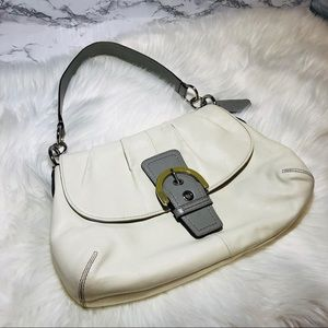 Coach Soho Shoulder Bag White